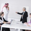 Arabic business man at meeting — Stock Photo #9568324