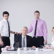 Business group on meeting — Foto Stock