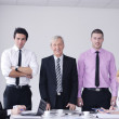 Business group on meeting — Stock Photo