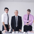 Business group on meeting — Stock Photo #9568874