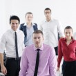 Young business man at meeting — Stock Photo #9570279