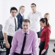 Young business man at meeting — Stock Photo #9570282