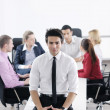 Young business man at meeting — Stock Photo #9570295