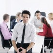 Young business man at meeting — Stock Photo #9570301
