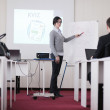 Business group on seminar — Stock Photo