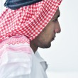 Stock Photo: Arab business man at bright office