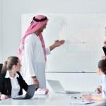 Arabic business man at meeting — Stock Photo #9677558