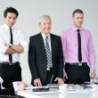 Stock Photo: Business group on meeting