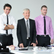 Business group on meeting — Stock Photo #9677815