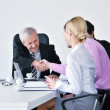 Business group on meeting — Stock Photo #9677898