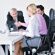 Business group on meeting — Stock Photo #9677907
