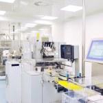 fábrica de médica y la producción interior — Foto de Stock