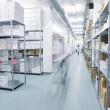 Foto de Stock  : Medical factory supplies storage indoor