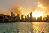 Modern şehir manzarası — Stok fotoğraf