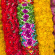 Stock Photo: Flower Garlands