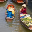 Stock Photo: Floating Market