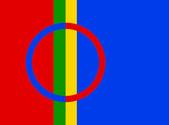 Sami flag — Stock Photo