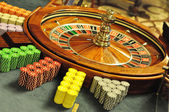 Roulette wheel — Stock Photo