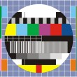 Stock Photo: Tv technical review