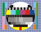 Tv technical review — Stock Photo