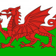 Wales flag — Stock Photo