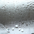 Window glass and rain drops — Stock Photo