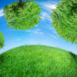 Stock Photo: Green Earth