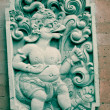 Stock Photo: Bali stone sculpture