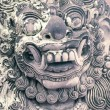 Royalty-Free Stock Photo: Bali stone sculpture