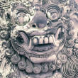 Bali stone sculpture — Stock Photo