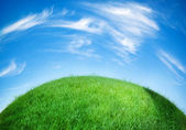 绿色的地球 — 图库照片