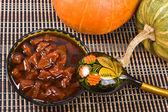 Jam from a pumpkin. — Stock Photo