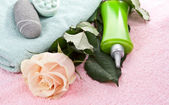Items for spa treatments, massages. — Stock Photo