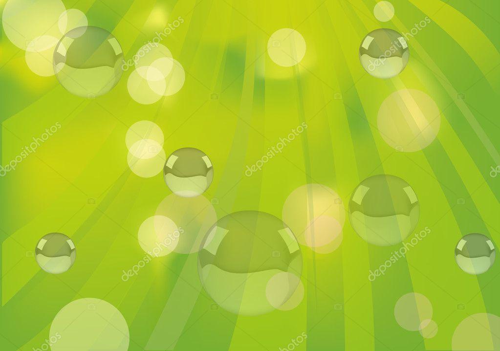 与抽象背景气泡图 — 图库矢量图片#8543974