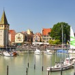 Stock Photo: Port of Lindau island, Germany