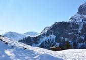 альпийские пейзажи, швейцария — Стоковое фото