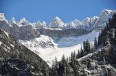 Mountain ridge in the Elm region, Switzerland — Stock Photo