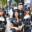 ZURICH - AUGUST 13: 20th Street Parade in Zurich. Three Thai gir — Stock Photo