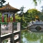 Chinese garden in Zurich — Stock Photo #8300428