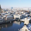 Stock Photo: Winter view of Zurich