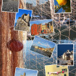 Collage of Camogli, Italy — Stock Photo