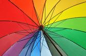 Tęcza parasol — Zdjęcie stockowe