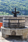 Old wine press, Switzerland — Stock Photo
