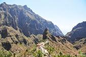 Pueblo de masca en las montañas de la isla de tenerife, islas canarias — Foto de Stock