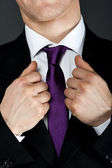 Man with tie — Stock Photo
