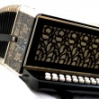Button Accordeon — Stock Photo