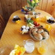 Stock Photo: Breakfast table