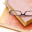 Books and Glasses — Stock Photo