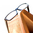 Glasses and Book — Stock Photo #8041180