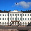 Stock Photo: Presidential Palace in Helsinki